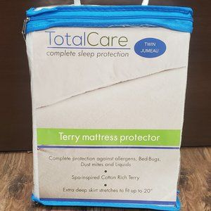Terry Cotton Mattress Protector